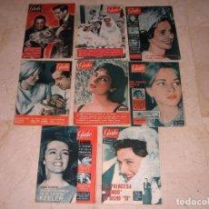 Coleccionismo de Revista Garbo: GARBO AÑOS 50 Y 60. 8 PRECIOSOS EJEMPLARES .MUY BUEN ESTADO.. Lote 137137618