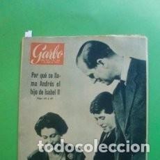 Coleccionismo de Revista Garbo: REVISTA GARBO 368 * 1960 * ISABEL II * ESFINGE SOVIETICA * BRIGITTA * ALFONSO DE HOHENLOHE * 43. Lote 137139214