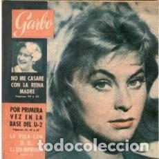 Coleccionismo de Revista Garbo: GARBO 377 * 1960 * MARIANNE HOLD * SIR LAURENCE OLIVIER * NAT KING COLE * BRIGITTE BARDOT * 43. Lote 137139710