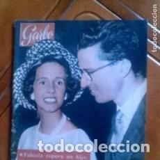 Coleccionismo de Revista Garbo: GARBO 447 * 1961 * FABIOLA ESPERA UN HIJO * EL MITO DE YETI * GARY COOPER * INGRID BERGMAN * 43. Lote 137140390