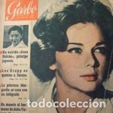 Coleccionismo de Revista Garbo: GARBO 364, MARZO 1960. EN PORTADA, LORELLA DE LUCA. MARGARITA DE INGLATERRA, LOLA FLORES * 43. Lote 137141378