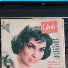 Coleccionismo de Revista Garbo: REVISTA GARBO 383 * 1960 * VICTOR MANUEL Y DOMINIQUE * MR,KELLY * MARGARITA * CHESSMAN * 43. Lote 137141966
