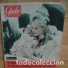 Coleccionismo de Revista Garbo: GARBO 358, ENERO 1960. BRIGITTE BARDOT. CARMEN MTEZ. BORDIU, FALLERA EN VALENCIA. FAUSTO COPPI * 43. Lote 137142158