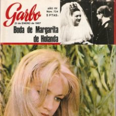 Coleccionismo de Revista Garbo: REVISTA GARBO Nº 724 CATHERINE SPAAK, JULIE CHRISTIE, GERALDINE CHAPLIN, CHARLES AZNAVOUR. Lote 138933094