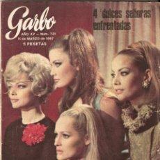 Coleccionismo de Revista Garbo: REVISTA GARBO Nº 731 PAUL MCCARTNEY THE BEATLES, DALIDA, PAUL ANKA. Lote 139651306