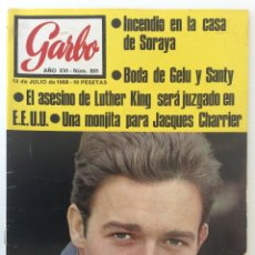 Coleccionismo de Revista Garbo: REVISTA GARBO AÑO XVI – Nº 801 – 13 DE JULIO DE 1968. Lote 140777454