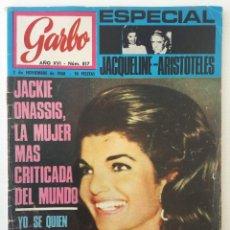 Coleccionismo de Revista Garbo: REVISTA GARBO AÑO XVI – Nº 817 – 2 DE NOVIEMBRE DE 1968. Lote 140786414
