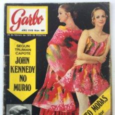 Coleccionismo de Revista Garbo: REVISTA GARBO AÑO XVIII – Nº 886 – 25 DE FEBRERO DE 1970 - JULIO IGLESIAS. Lote 140922718