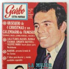 Coleccionismo de Revista Garbo: REVISTA GARBO AÑO XVIII – Nº 927 – 9 DE DICIEMBRE DE 1970 – JULIO IGLESIAS. Lote 141113794