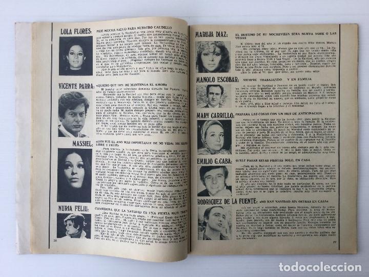 Coleccionismo de Revista Garbo: Revista Garbo año XVIII – nº 927 – 9 de Diciembre de 1970 – Julio Iglesias - Foto 7 - 141113794