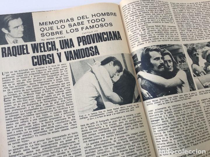 Coleccionismo de Revista Garbo: Revista Garbo año XVIII – nº 927 – 9 de Diciembre de 1970 – Julio Iglesias - Foto 27 - 141113794