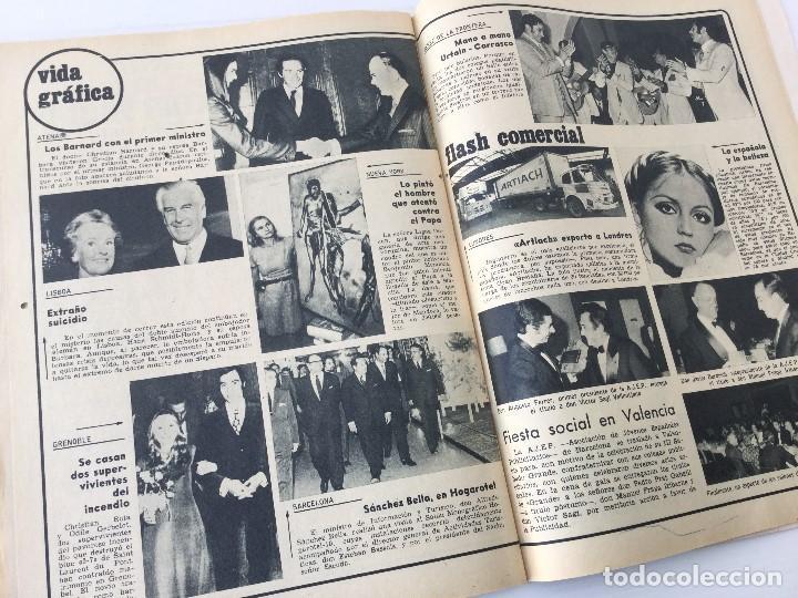 Coleccionismo de Revista Garbo: Revista Garbo año XVIII – nº 927 – 9 de Diciembre de 1970 – Julio Iglesias - Foto 32 - 141113794
