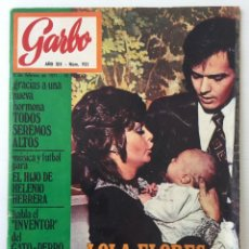 Coleccionismo de Revista Garbo - Revista Garbo – nº 935– 3 de Febrero de 1971 – Lola Flores Madrina - 141121494