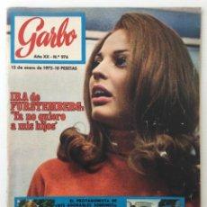 Colecionismo da Revista Garbo: REVISTA GARBO – Nº 976 – 12 DE ENERO DE 1972 – MIGUEL RÍOS. Lote 141235674