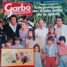 Collectionnisme de Magazine Garbo: REVISTA GARBO NÚMERO 1502 AÑOS 80. Lote 141324685