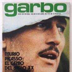 Coleccionismo de Revista Garbo: REVISTA GARBO – Nº 1042 – 18 DE ABRIL DE 1973 – MURIÓ PICASSO. Lote 141441914