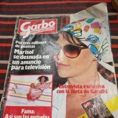 Coleccionismo de Revista Garbo: GARBO CON - MARISOL Nº 1567 DEL 1983. Lote 142835154