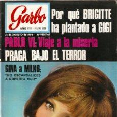 Coleccionismo de Revista Garbo: REVISTA GARBO Nº 808 PINITO DEL ORO, CONCHITA VELASCO, DALIDA, PABLO VI, RAPHAEL, GINA LOLLOBRIGIDA. Lote 142908394