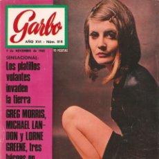 Coleccionismo de Revista Garbo: REVISTA GARBO Nº 818 SANDIE SHAW, JOHN LENNON, ADAMO, LOS CANARIOS, TONY PERKINS, MICHAEL LANDON . Lote 142916602