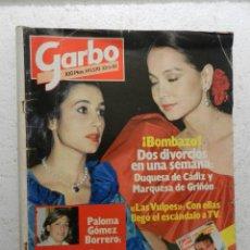 Coleccionismo de Revista Garbo: GARBO REVISTA Nº 1570 23/5/1983 - PALOMA GOMEZ BORRERO - ANTONIO FERRANDIS . Lote 143318998