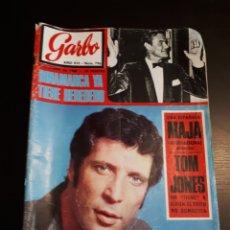 Coleccionismo de Revista Garbo: ANTIGUA REVISTA GARBO TOM JONES 8 DE JUNIO DE 1968 AÑO XVI NUM 796 TOM JONES. Lote 143538521
