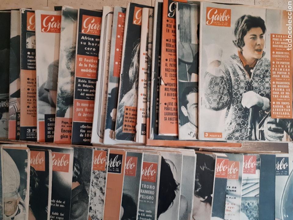 Coleccionismo de Revista Garbo: Lote de 44 revistas GARBO de las 52 que componen el año 1960 leer descripción - Foto 4 - 143540765