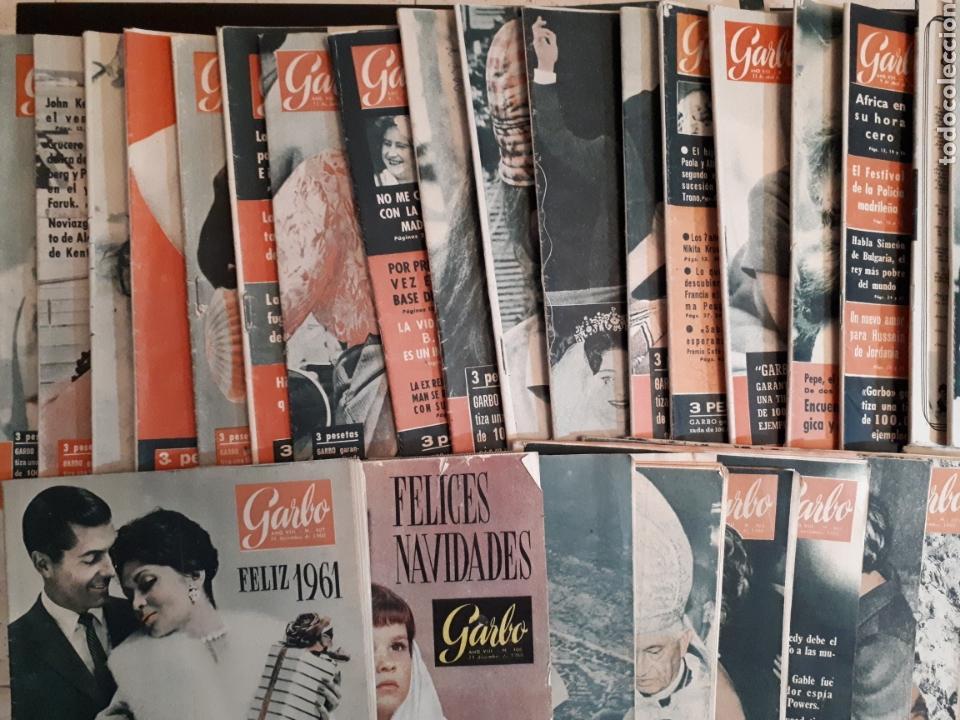 Coleccionismo de Revista Garbo: Lote de 44 revistas GARBO de las 52 que componen el año 1960 leer descripción - Foto 5 - 143540765