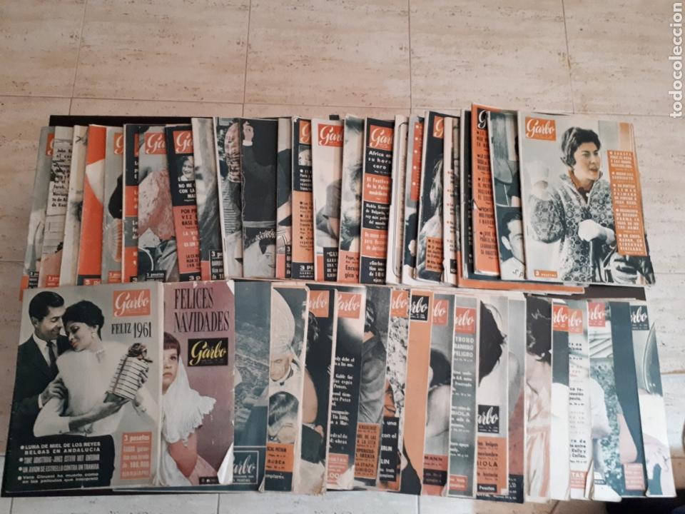 LOTE DE 44 REVISTAS GARBO DE LAS 52 QUE COMPONEN EL AÑO 1960 LEER DESCRIPCIÓN (Coleccionismo - Revistas y Periódicos Modernos (a partir de 1.940) - Revista Garbo)