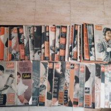 Coleccionismo de Revista Garbo: LOTE DE 44 REVISTAS GARBO DE LAS 52 QUE COMPONEN EL AÑO 1960 LEER DESCRIPCIÓN. Lote 143540765