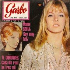 Coleccionismo de Revista Garbo: REVISTA GARBO Nº 827 NATHALIE DELON, NACY SINATRA, SOFIA LOREN ,EL CORDOBÉS, CLAUDIA CARDINALE. Lote 143887438