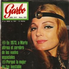 Coleccionismo de Revista Garbo: REVISTA GARBO Nº 830 CARMEN SEVILLA, MILVA, AUDREY HEPBURN, CYNTHIA POWEL JOHN LENNON THE BEATLES. Lote 143888150