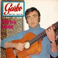 Coleccionismo de Revista Garbo: REVISTA GARBO Nº 831 PERET, JACKIE ONASSIS, MIREILLE MATHIEU, MIDEM 69, BOB KENNEDY, SERRAT. Lote 143888558