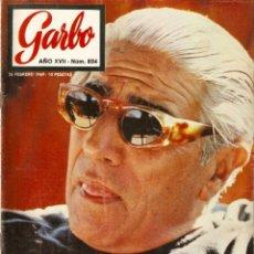 Coleccionismo de Revista Garbo: REVISTA GARBO Nº834 RITA PAVONE, LAURA VALENZUELA, YOKO ONO JOHN LENNON, ONASSIS, IRA DE FUSTENBERG. Lote 143889602