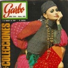 Coleccionismo de Revista Garbo: REVISTA GARBO 835 SALOMÉ EUROVISION, TWIGGY, COUREEGÉS NINA RICCI DIOR PIERRE CARDIN, PAMELA TIFFIN. Lote 143890350