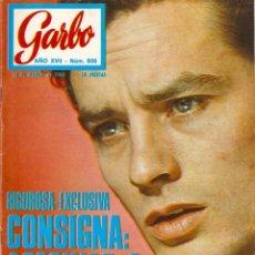 Coleccionismo de Revista Garbo: REVISTA GARBO Nº 836 ALAIN DELON, ELKE SOMMER, SALVATORE ADAMO, ONASSIS, ESTEFANÍA DE MÓNACO. Lote 143890746