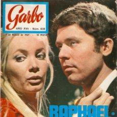 Coleccionismo de Revista Garbo: REVISTA GARBO Nº 837 RAPHAEL, NIXON, EARL RAY, ONASSIS, LINDA PAUL Y MCCARTNEY THE BEATLES, . Lote 143894334