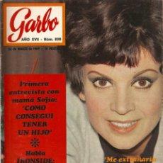 Coleccionismo de Revista Garbo: REVISTA GARBO Nº 838 SALOMÉ, JEAN -JACQUES EUROVISION 69, GEORGIE DANN, SOFÍA LOREN, JACKIE ONASSIS. Lote 143894774