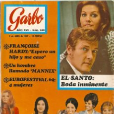 Coleccionismo de Revista Garbo: REVISTA GARBO Nº 840 EUROVISION 69, FRANCOISE HARDY, MARY HOPKIN ENGEL HUMPERDINK, MANNIX. Lote 143896166