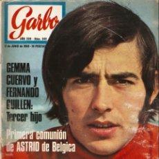 Coleccionismo de Revista Garbo: REVISTA GARBO 849 JOAN MANUEL SERRAT, LA POLACA, MARGARET LEE, FERNANDO GUILLEN CUERVO GEMMA CUERVO. Lote 143898238