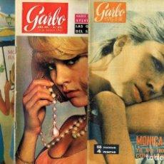 Coleccionismo de Revista Garbo: LOTE 14 REVISTAS GARBO AÑO 1965. Lote 144029466