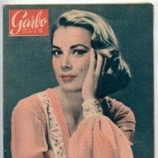 Coleccionismo de Revista Garbo: GARBO - 1958 - GRACE KELLY, DE GAULLE, MIKE TODD, LIZ TAYLOR, MARGARITA, CAROLINA DE MONACO. Lote 75828247