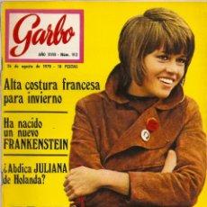 Coleccionismo de Revista Garbo: REVISTA GARBO Nº 912 JANE FONDA SHARON TATE CHARLES MANSON MIGUEL RIOS NINA RICHI PIERRE CARDIN. Lote 191436168