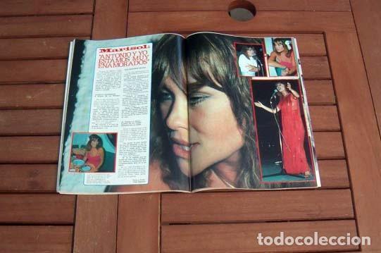 GARBO 1980 / MARISOL, PECOS, PARCHIS, MIGUEL BOSE, JULIO IGLESIAS, LOLA FLORES, LOLITA, ROCIO JURADO (Coleccionismo - Revistas y Periódicos Modernos (a partir de 1.940) - Revista Garbo)