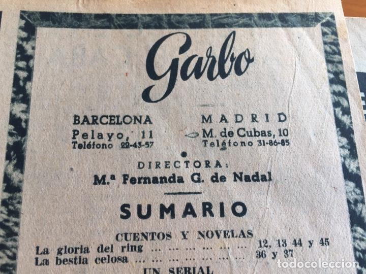 Coleccionismo de Revista Garbo: Tomo encuadernado revistas Garbo año 53/54 - Foto 3 - 146726170