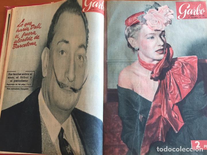 Coleccionismo de Revista Garbo: Tomo encuadernado revistas Garbo año 53/54 - Foto 5 - 146726170