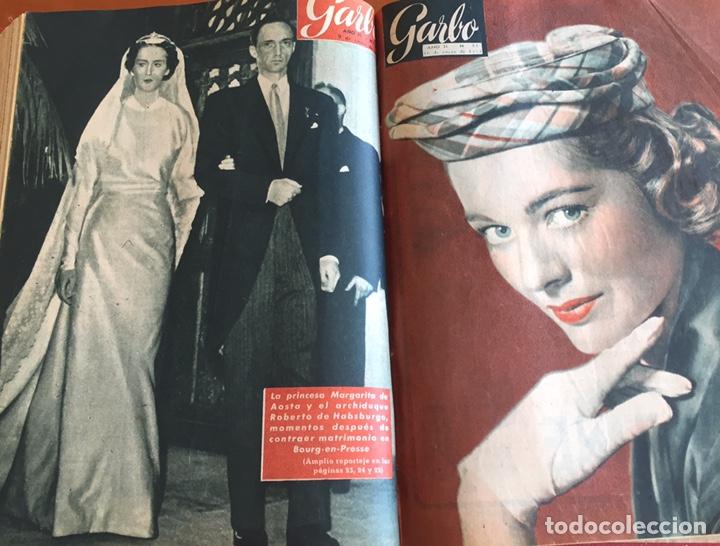 Coleccionismo de Revista Garbo: Tomo encuadernado revistas Garbo año 53/54 - Foto 6 - 146726170