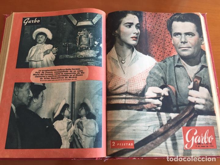 Coleccionismo de Revista Garbo: Tomo encuadernado revistas Garbo año 53/54 - Foto 7 - 146726170