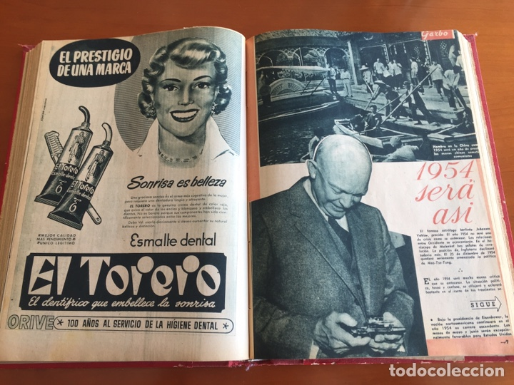 Coleccionismo de Revista Garbo: Tomo encuadernado revistas Garbo año 53/54 - Foto 8 - 146726170