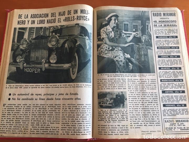 Coleccionismo de Revista Garbo: Tomo encuadernado revistas Garbo año 53/54 - Foto 10 - 146726170