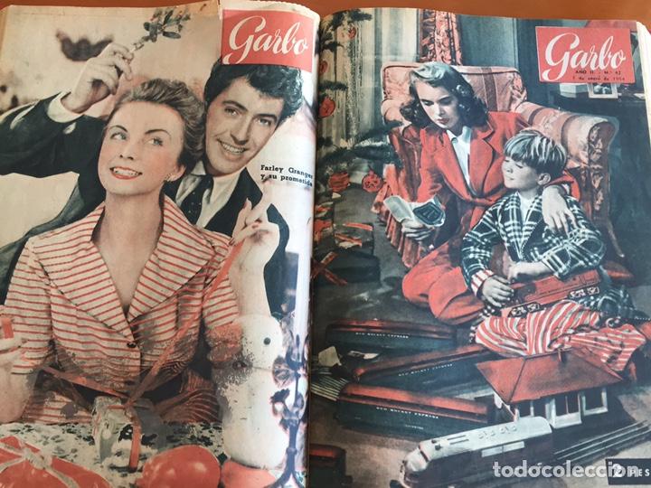 Coleccionismo de Revista Garbo: Tomo encuadernado revistas Garbo año 53/54 - Foto 11 - 146726170